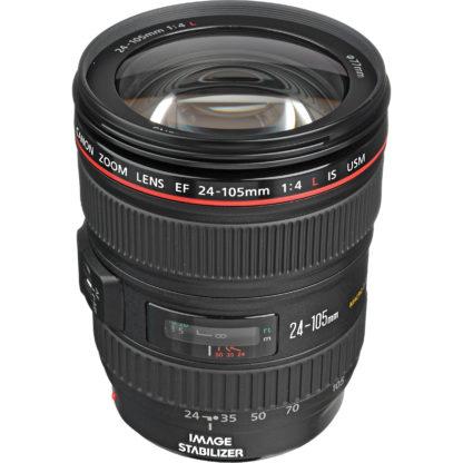 Obiectiv aparat foto standard zoom Canon EF 24-105mm f/4L IS USM - Inchiriere obiective foto