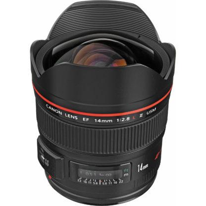 Obiectiv foto DSLR Canon EF 14mm f/2.8L II USM