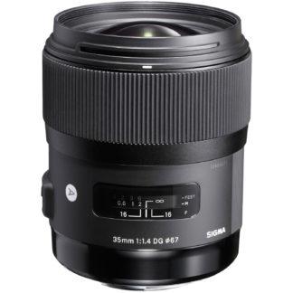 Obiectiv foto DSLR Sigma 35mm f1.4 DG HSM - montura Canon