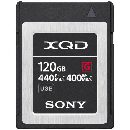 Card Sony XQD 120GB